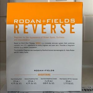 Rodan and Fields Reverse Brightening Regimen
